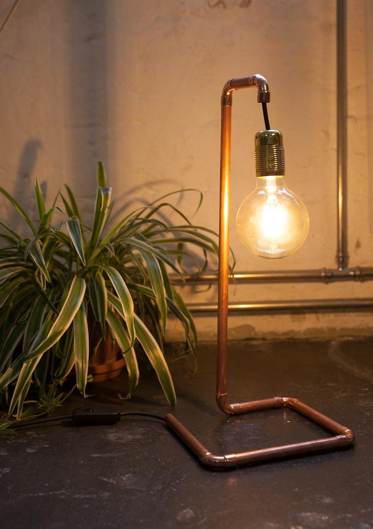 wandlampe selber machen affordable mag diy kupferlampe basteln with wandlampe selber machen. Black Bedroom Furniture Sets. Home Design Ideas