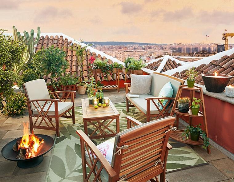 Weihnachten steht vor der tr so schlicht dekoriere ich diesen - Dekoration terrasse ...
