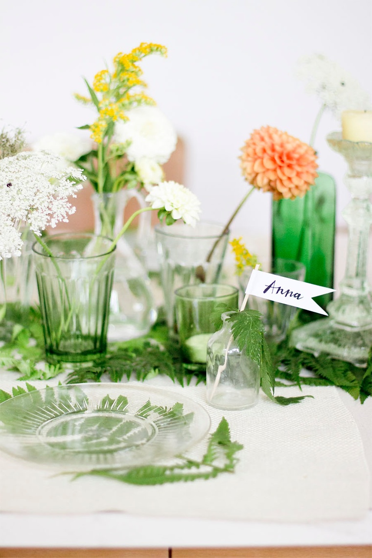 Anspruchsvoll Tischdeko Selber Machen Sommer Referenz Von Als Namensschilder Habe Ich Papier Verwendet, Auf