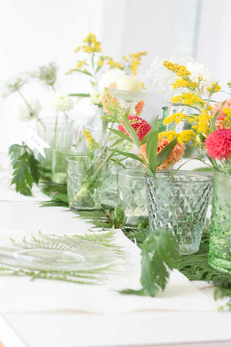 Großartig Tischdeko Selber Machen Sommer Dekoration Von Welche Blumen Würden Sie Verwenden? Was Sind