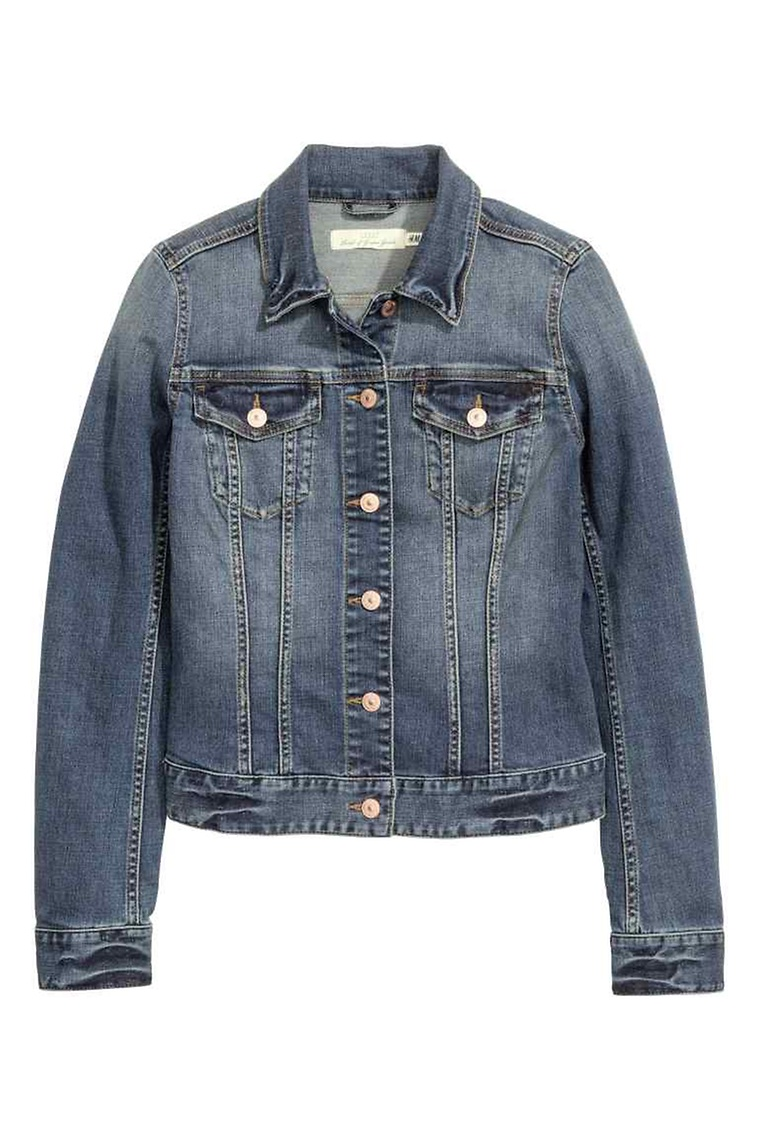 vêtement, veste, jean, mode