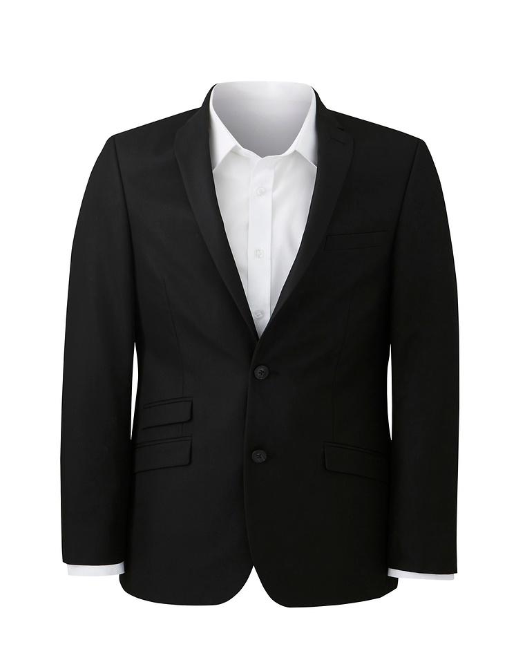 b05af6f6ca18 W B London Black Tonic Suit Jacket